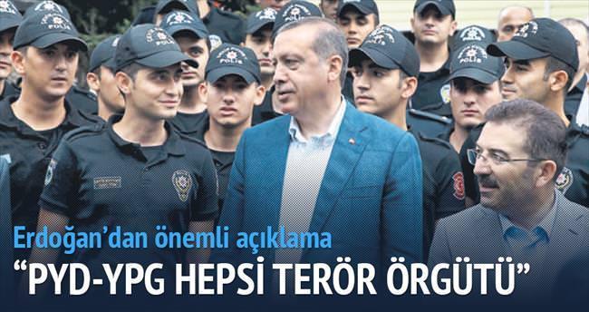 'PYD-YPG hepsi terör örgütü'
