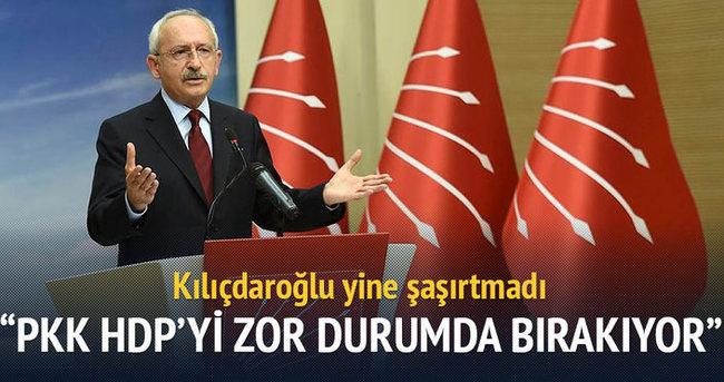 Kılıçdaroğlu 'cici' teröristleri savundu