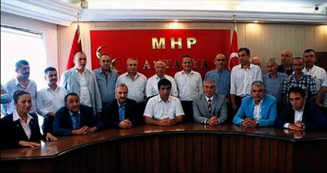 MHP Antalya İl Örgütü beraberlik mesajı verdi