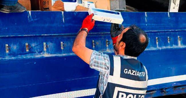 TIR'da 100 bin paket kaçak sigara bulundu