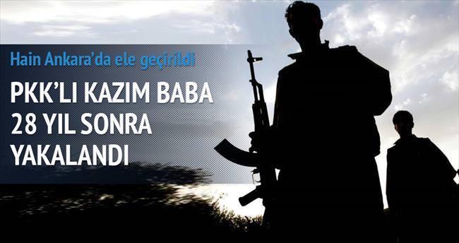 PKK'lı Kazım Baba 28 yıl sonra yakalandı