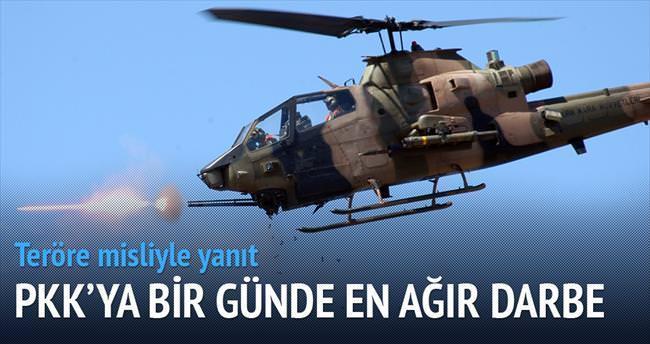 Bir günde 41 PKK'lı öldürüldü