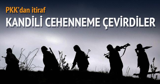 PKK'lı teröristten Kandil itirafı!