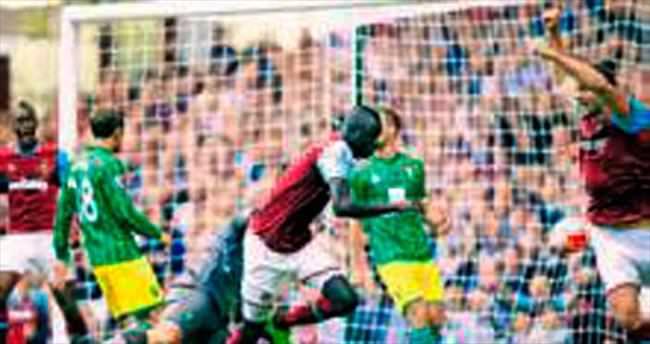 West Ham'a, Norwich 'dur' dedi
