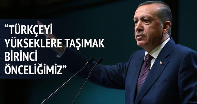 'Türkçeyi yükseklere taşımak önceliğimiz'
