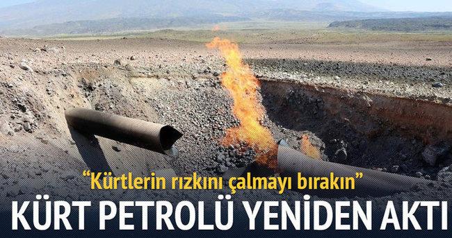 Kuzey Irak'tan Türkiye'ye petrol akışı yeniden başladı