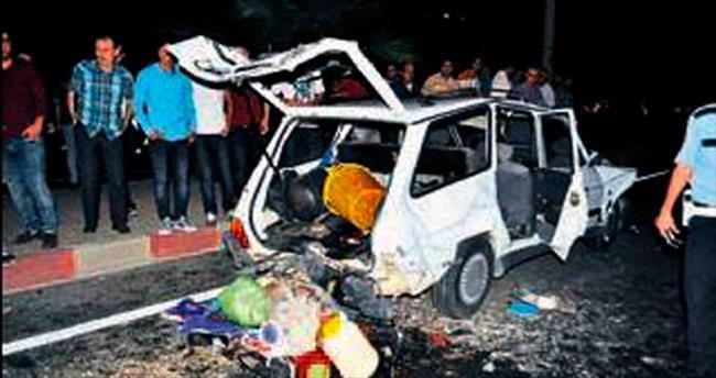 Turgutlu'da zincirleme trafik kazası: 5 yaralı