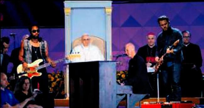 Papa'nın rock albümü geliyor