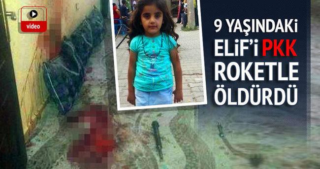 PKK'nın roketatarlı saldırısında 9 yaşındaki çocuk hayatını kaybetti