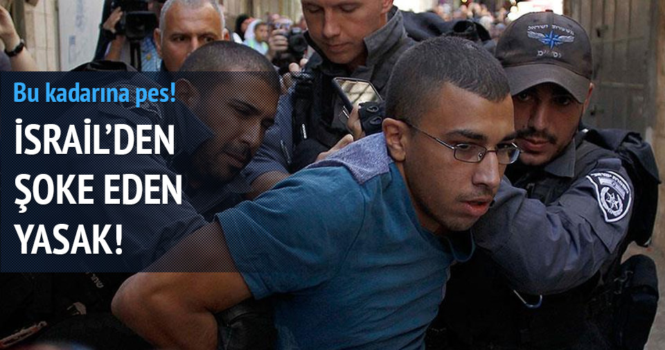 İsrail 50 yaş altı Müslümanlara Mescid-i Aksa'yı yasakladı