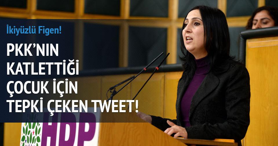 PKK'nın katlettiği Elif'le ilgili tepki çeken tweet