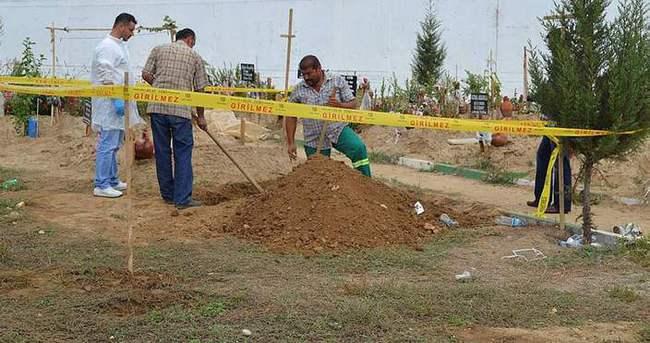 Mezarlık şakası savcıyı ve polisi alarma geçirdi