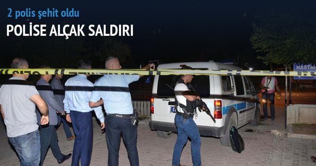 Polise alçak saldırı: 1 polis şehit