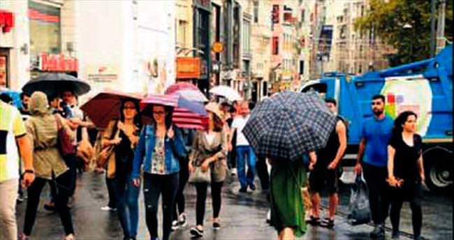 İstanbul'da yağmur hava trafiğini vurdu