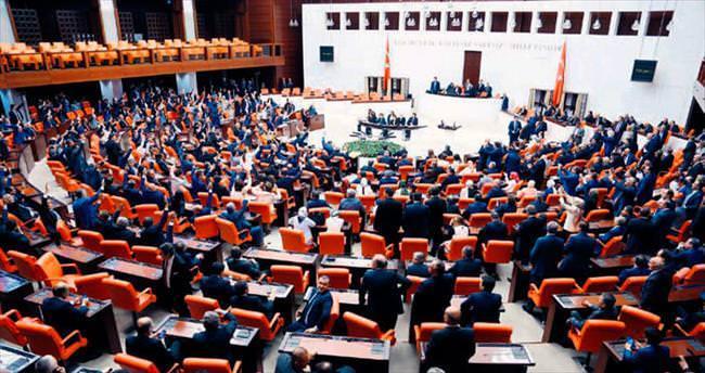 Meclis'e resepsiyonsuz açılış