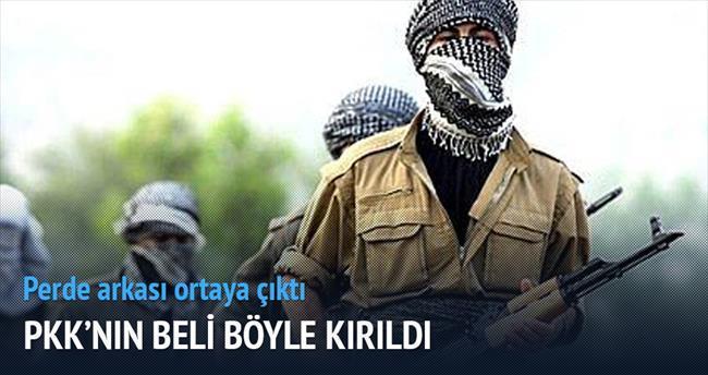 PKK'nın beli böyle kırıldı