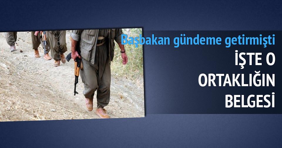 İşte PYD-PKK ortaklığının belgesi