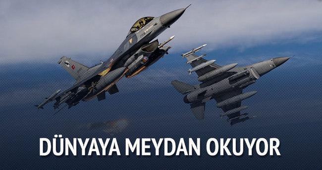 Türk savunma sanayiisi dünyaya meydan okuyor