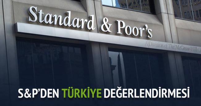 S&P'nin Türkiye değerlendirmesi