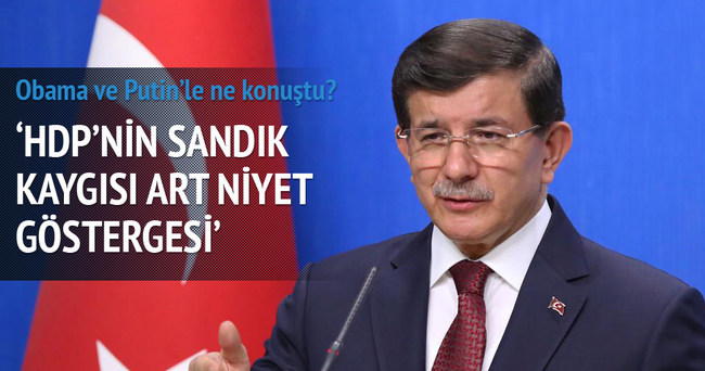 HDP'nin sandık kaygısı art niyet göstergesi