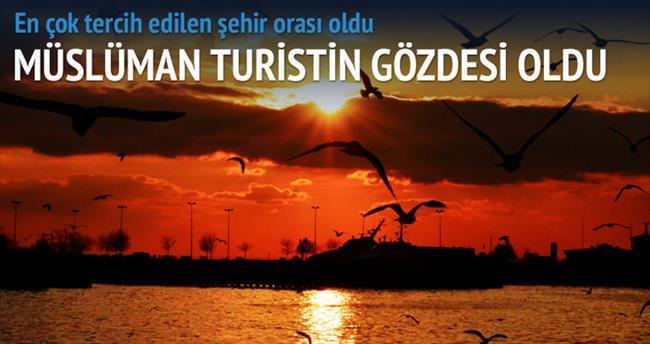 Müslüman turistin gözdesi İstanbul