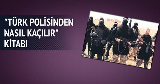 Türk polisinden kaçma kitapçığı