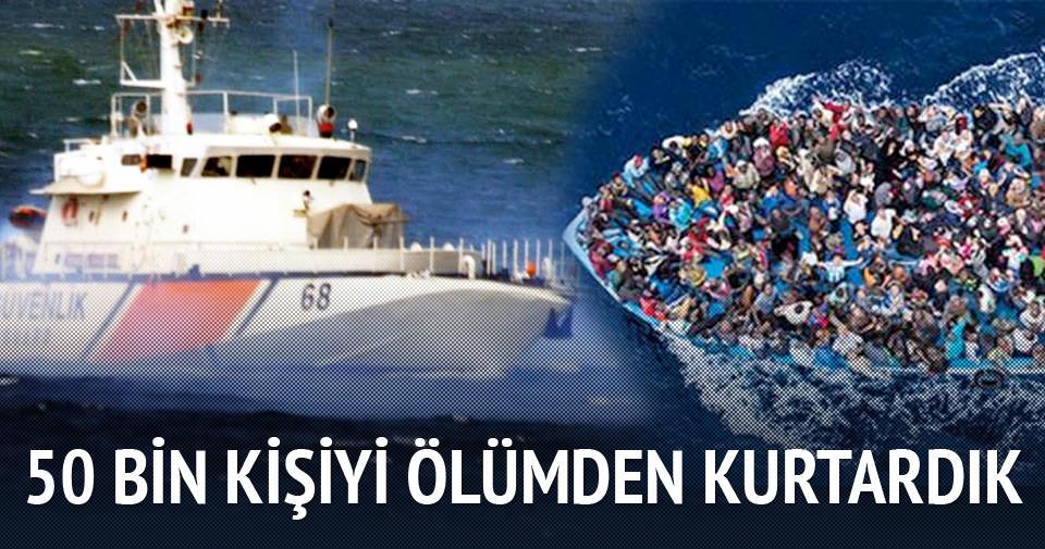 Türkiye 50 bin kişiyi ölümden kurtardı