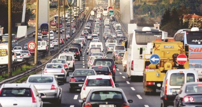 Otomobil sayısı 13 yılda % 125 arttı