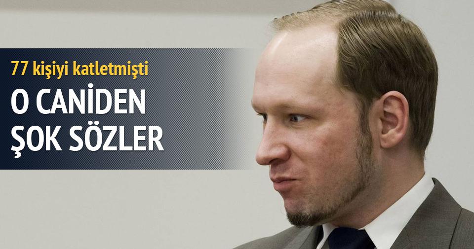 77 kişiyi öldüren Breivik'ten intihar ederim tehdidi
