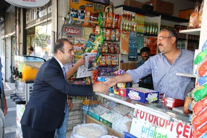 Başkan Çiftçi'den Esnafa Ziyaret