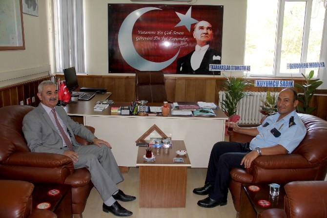 Başkan Karataş'tan Emniyet Müdürü Esmek'e Ziyaret