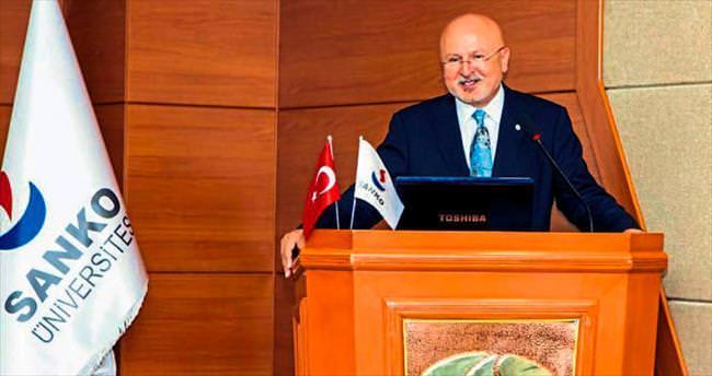 SANKO'da ilk dersi Prof. Dr. Sınav verdi