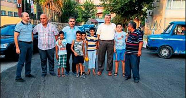 Dadaloğlu Mahallesi'nde asfaltsız sokak kalmadı