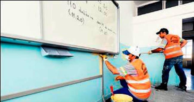 Büyükşehir'den okullara tam destek