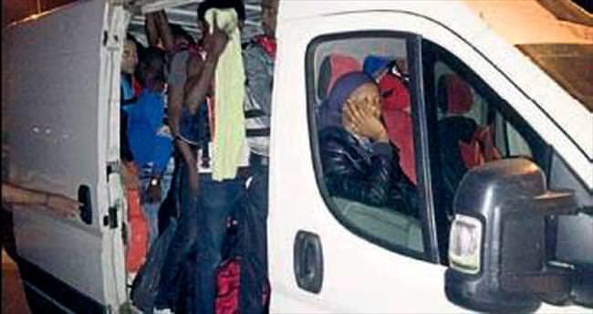 İnsan kaçakçılığı zanlıları tutuklandı