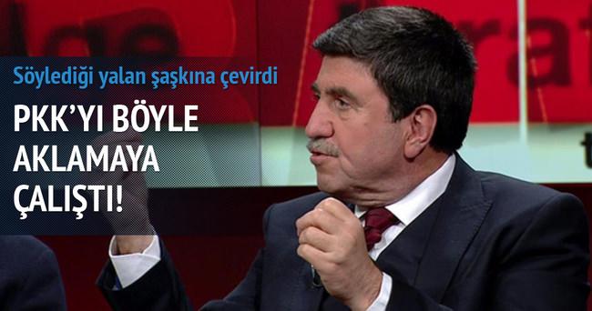 Altan Tan'ın, CNN Türk'te PKK'yı aklamak için söylediği yalan şaşkına çevirdi