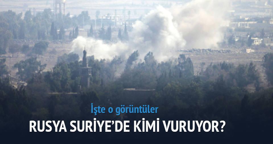 Rusya Suriye'de kimi vuruyor?