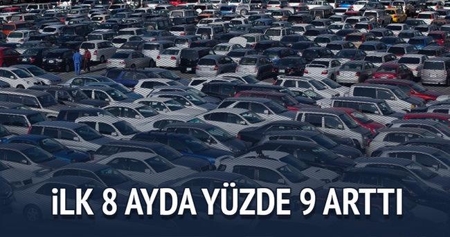 Ticari araç satışları Ocak-Ağustos'ta yüzde 62 arttı