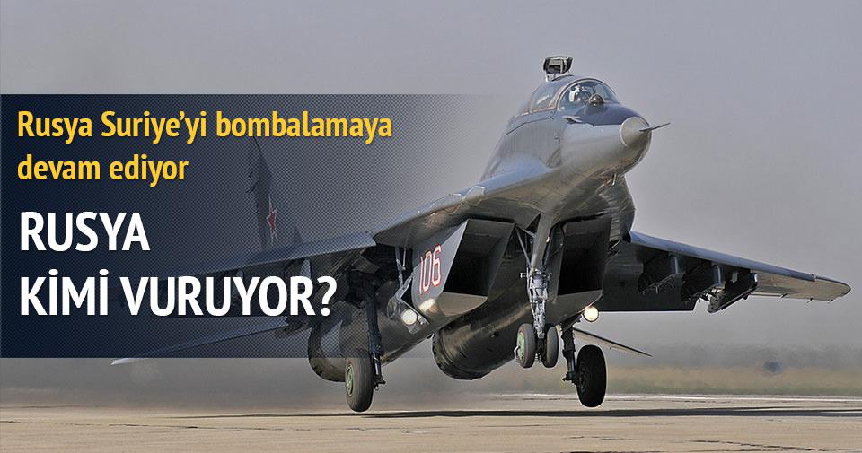 Rusya'dan Suriye'de operasyon