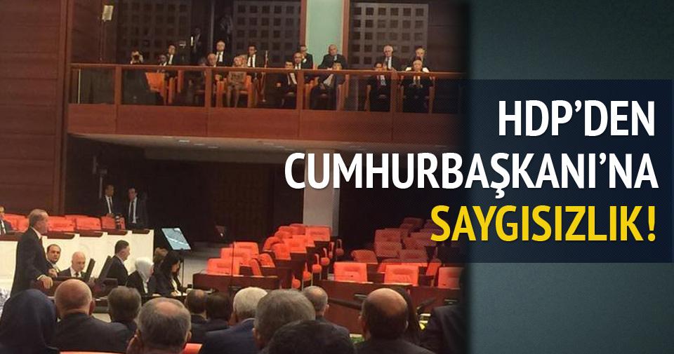 HDP Meclis'i terk etti!