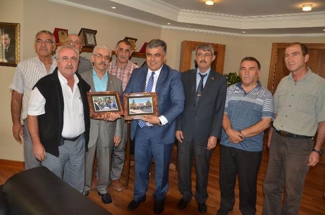 Gazilerden Başkan Özgüven'e Ziyaret