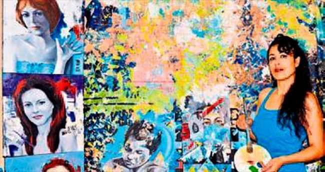 Çılgın ressamın eserleri kitaplarda