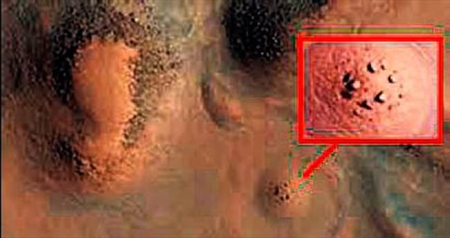 Mars'ta 'Stonehenge anıtı var' iddiası