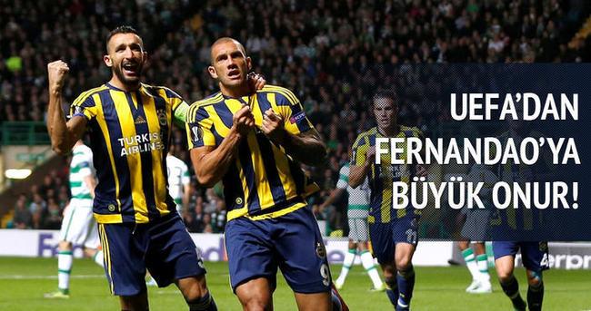 UEFA'dan Fernandao'ya büyük onur!