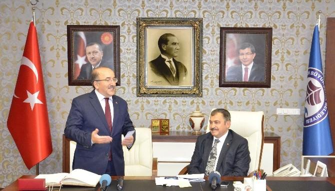 Bakan Veysel Eroğlu Trabzon'da