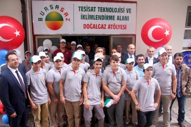 Bursagaz'dan Endüstri Meslek Lisesi'ne Doğalgaz Bölümü