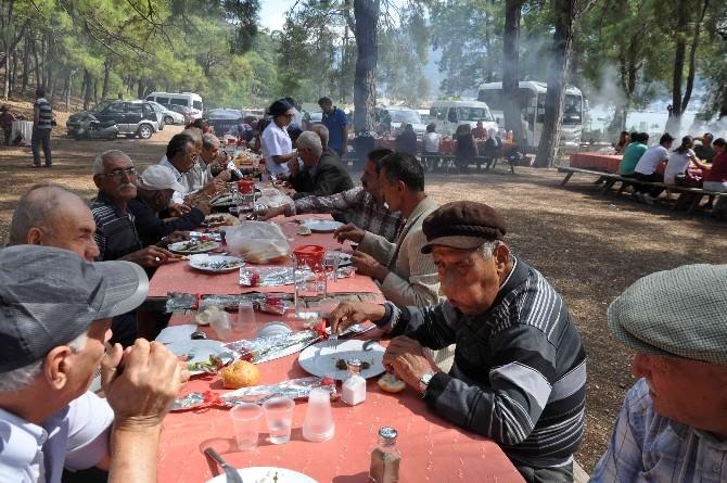 Fethiye Huzurevi Sakinleri Piknikte Moral Depoladı