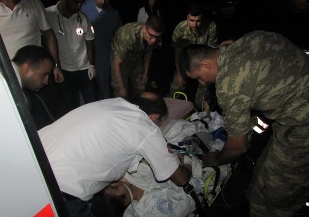 12 Yaşındaki Kalp Hastası Çocuk Askeri Helikopterle Elazığ'a Getirildi