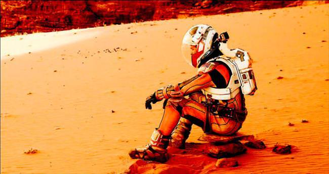 Mars'ta bir başına