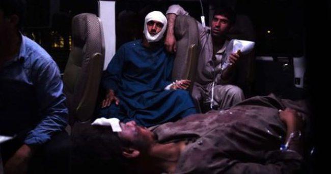 Afganistan'da hastaneye bombalı saldırı